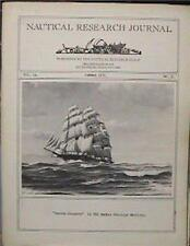 RARE SUMMER 1971 NAUTICAL RESEARCH JOURNAL VOL 18 No 2