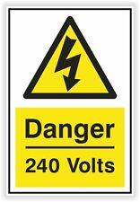 1x 240 Volts Danger Sticker #02