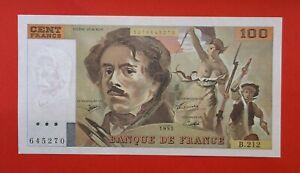 Billet neuf de 100 Francs Delacroix - Type 1978 - Année 1993 - B 212