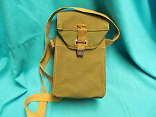 WWII MILITARY SUPPLY BELT SHOULDER POUCH BAG LIGHT II W&G LTD 7/1944 ENGLAND
