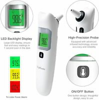 DigHealth Baby Thermometer, Forehead and Ear Thermometer with Fever Alarm and Me