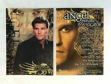 CHEAP PROMO CARD: Angel Season 2 Inkworks 2001 #A2L-1 ONE SHIP FEE PER ORDER
