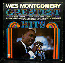 Wes Montgomery Greatest Hits LP Mint- SP 4247 Stereo A&M Records 1970 Original