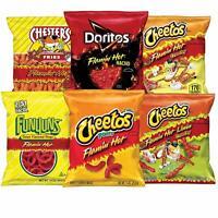 Frito-Lay Flamin' Hot Mix Variety Pack, Cheetos Cheese Snacks, Funyuns and More