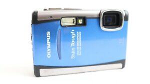 Olympus Stylus Tough 6000 ~ 10.0MP Digital Camera 3.6x Zoom  ~ Blue / Silver ~