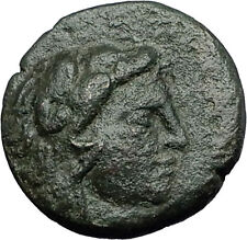 LYSIMACHEIA founded by Lysimachos Thrace 309BC Hercules Nike Greek Coin i58428