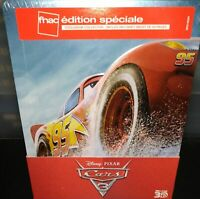 [Blu-ray] CARS 3 Steelbook Embossed - Livret inclus - NEUF SOUS BLISTER