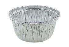 300/Pk - 4 oz. Aluminum Foil Muffin/Utility/Ramekin Cups -Disposable Cupcake Tin