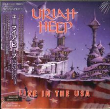URIAH HEEP-LIVE IN THE USA-JAPAN MINI LP CD Ltd/Ed F56