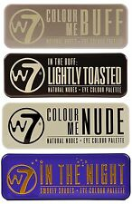 W7 Ultimate Eye Shadow Palette Collection,Colour Me Buff, In The Nude, In The &