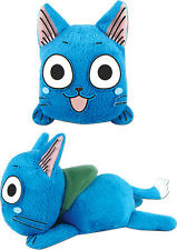 "*NEW* Fairy Tail: Happy Lie Prone Posture 4"" Plush by GE Animation"