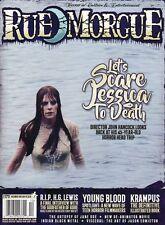 Rue Morgue Zeitschrift #173 Dezember 2016 LET'S Scare Jessica To Death - Marrs