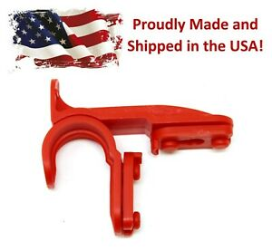 New Red Plastic Latch Set Kit for Solar Group Standard Mailbox Repair Latch Kit