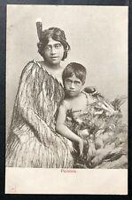 Postkarte Antike Maori Picininis Neue Zealand