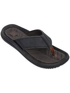 George Men's Casual Flip Flop Size 13 Color Brown (LOCTUB ES-2)