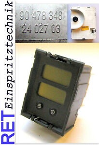 Uhr Zeituhr Display VDO 2402703 Opel 90478348 original