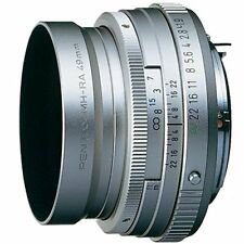 New SMC Pentax FA 43mm F1.9 Limited Auto Focus Lens in SILVER for K Mount RICOH
