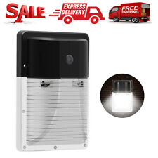 Outdoor Dusk to Dawn LED Wall Mount Security Light Photocell Lighting Waterproof