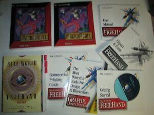 Macromedia FREEHAND & MACROMODEL User's Guide Workbook Books
