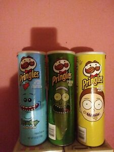 Rick and morty pringles full set