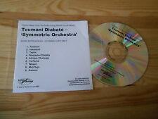 CD Ethno Toumani Diabate - Symmetric Orchestra (9 Song) Promo WORLD CIRCUIT
