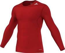 adidas Techfit Base Longsleeve university-red (D82061) XS -XXL