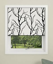 DEBEL 80 x 175 cm 100 Percent Polyester  Tree  Blackout Roller Blind with Alumin