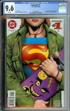 SUPERGIRL #1 CGC 9.6 WHITE PAGES // 1ST APPEARANCE BUZZ 1996
