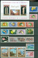 Cameroun : Beau Collection De Toutes Mint & Principalement Nh Complet Définit.