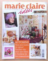 #) revue MARIE CLAIRE IDEES  N° 58- septembre 2005 - AUTOMNE