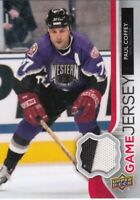 PAUL COFFEY NO:GJ-PC UD GAME JERSEY 2 colors in UPPER DECK 2014-15    a