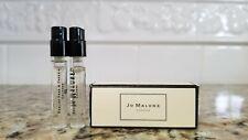 2x Jo Malone English Oak/Redcurrant, & English Pear/Freesia, 0.05 oz/1.5 ml each