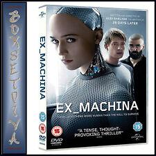 EX MACHINA - Domhnall Gleeson  ** BRAND NEW DVD***