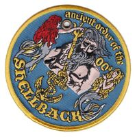 Ancient Order of the Shellback SONS OF NEPTUNE CROSSING THE LINE US NAVY SAILOR