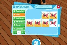 Adopt me limited butterfly pet 2x bundle cheap, fast delivery!
