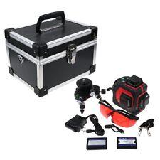 12Ligne 650nm 3D Niveau Laser 360° Automatique Vertical Horizontal Outil Mesure