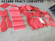 1978-1982 Corvette New Repro C/P F&R Carpet/w Jute Padding 78 79 80-82 Any Color