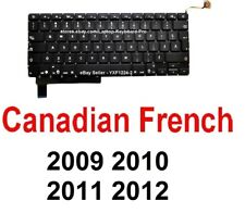 Apple MacBook Pro A1286 2009 2010 2011 2012 Keyboard - CF Canadian French