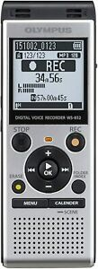 OM Digital Solutions Voice Recorder WS-852 with 4GB, Automatic Mic...