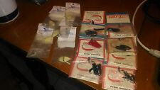 MISC. EAGLE CLAW / BRITE STRIKE FISHING HOOKS AND SPOONS
