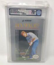 JACK NICKLAUS Greatest 18 Holes 1990 Konami NES NINTENDO Video Game GOLF PGA VGA