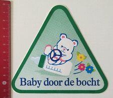 Pegatina/sticker: Baby door de Bocht (10061671)