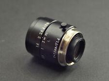 C-mount Lens SV 16mm 1.4, Macro focusing from 10cm to infinity. BMPCC, Pentax Q