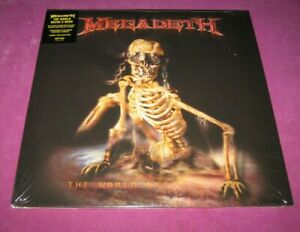 MEGADETH - THE WORLD NEEDS A HERO - SANCTUARY USA 2019 2LP RE-ISSUE - MINT