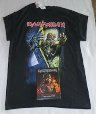 Iron Maiden Book Of Souls Live Chapter CD Limited Deluxe Edition & ED Shirt NEW