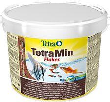 Mangime Pesci TetraMin 10 L Secchio Tetra min Fiocco Cibo principale ornamentali