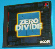 Zero Divide - Sony Playstation - PS1 PSX - JAP