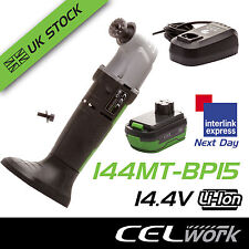 CEL 14.4V Li-Ion Cordless Multi-tool with Blades, Battery + Charger