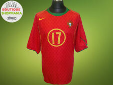 PORTUGAL National HOME 2004-2006 #17 (XL-XXL) Nike Football Shirt Jersey Camisa