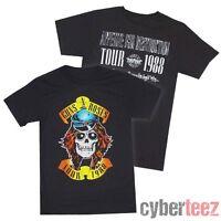 GUNS N ROSES T-Shirt Tour 1988 Appetite For Destruction OFFICIALLY LICENSED S-2X